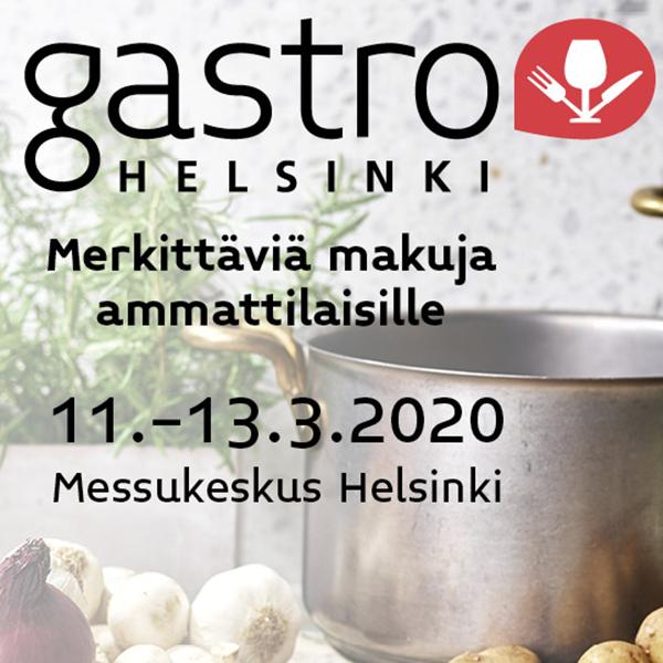 Gastro Helsinki on Suomen merkittävin ruoka- ja ravintola-alan ammattitapahtuma, joka kokoaa horeca-alan ammattilaiset yhteen sekä esittelee alan uusimmat maut ja trendit