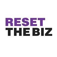 Teksti Reset the biz.